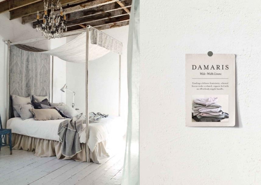 sypialnia, bedroom, fabric, gris, szary