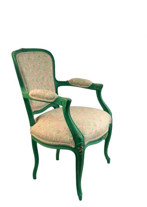 zielony fotelik