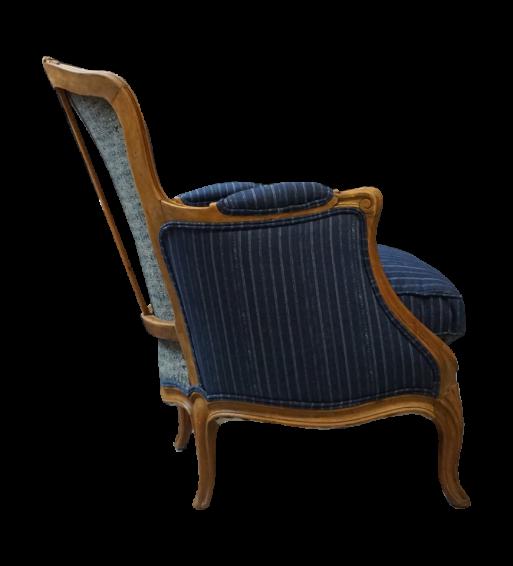 fotel w stylu francuskim