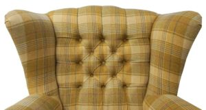 fotel w kratę