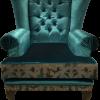 zielony fotel