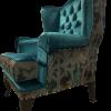 pikowany fotel